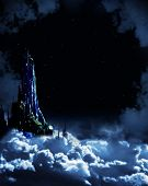 picture of fairy-tale  - Night fairy - JPG