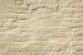 The Whitewashed Brick Wall