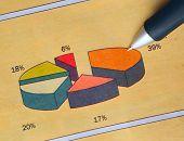 Pen Showing Diagram
