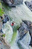Kayaking in Great Falls National Park, Virgina United States