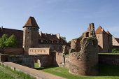 Castle In Malbork Poland