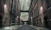 alte Grunge Straße