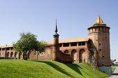 Ruins Of Kremlin In Kolomna City Russia