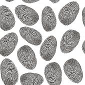 seamless finger print pattern