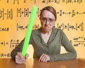 verrückte Lehrerin