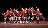 VITEBSK, BELARUS - APRIL 2: Unidentified children from dancing group