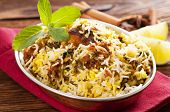 stock photo of biryani  - Chicken biryani - JPG