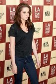 LOS ANGELES - JUNE 21: Kristen Stewart arrives at the Los Angeles Film festival premiere of 'A Bette