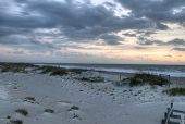 Tybee Beach at Sunrise