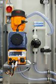 COLOGNE, GERMANY - MARCH 27 : New BlueCIP Clean In Place system with ECA on display at the Loehrke b