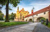 View Of Castle (zamek Olesnicki) In Olesnica, Lower Silesia, Poland (hdr Image) poster