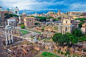 Ancient Forum In Rome