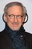 LOS ANGELES - FEB 4:  Steven Spielberg arrives at the Hollywood Reporter Celebrates the 85th Academy