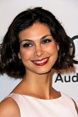 LOS ANGELES - FEB 4:  Morena Baccarin arrives at the Hollywood Reporter Celebrates the 85th Academy