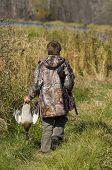 Boy Duck Hunting