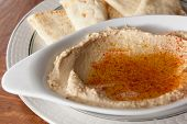 Hummus Appetizer with Pita
