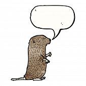 cartoon vole