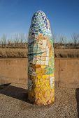 Monolith Ceramic Talavera pottery, Talavera de la Reina, Toledo Spain