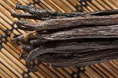 Fresh Brown Organic Vanilla Bean