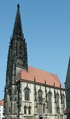 St Lamberts Church In Muenster
