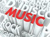 Musikkonzept.