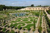 França, o jardim do Palácio de Versalhes Laranjal