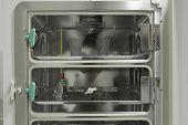 Test Fridge In Bio Lab