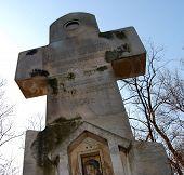 die russischen Soldaten-Denkmal