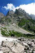 felsige Berglandschaft in Österreich