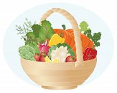 Vegetable Hamper