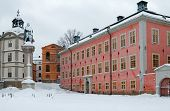 Riddarholmen, Stockholm in winter.
