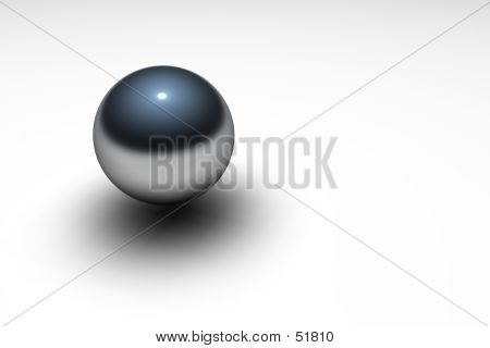 Metallic Ball poster