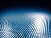 fine image of classic carbon fiber blue tone