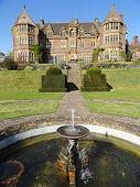 Manor House Garden With Fountain