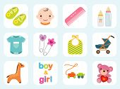 Baby Icon Collection - More In My Portfolio.