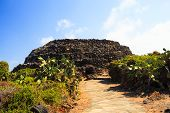 image of megaliths  - View of Sesi megalithic constructions in Pantelleria Sicily - JPG