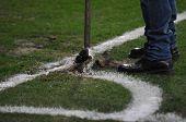 Damage Football Pich