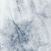 Soft Grunge Blue Abstract poster