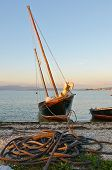 Traditional Galician Fishing Boat