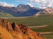 pic of denali national park  - Denali National Park which has majestic mountains - JPG