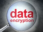 Protection concept: Data Encryption with optical glass