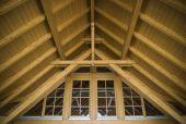 Holz-Dach-Top-Bau