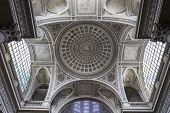 interiors of Pantheon necropolis, Paris, France