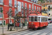Streetcar In Alfama, Lisbon