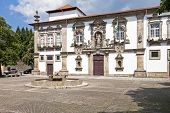 Guimaraes City-Hall in the former Santa Clara nunnery building. Guimaraes, Portugal. Unesco World He