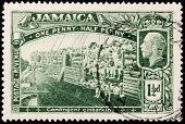 Jamaica World War I Stamp