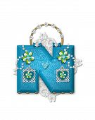 Alphabet Bling Bag N