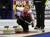 Curling Women Russia Rocks House Fomina