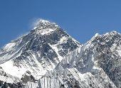 Everest Mountain Peak (sagarmatha), Highest Mountain In The World, Nepal.