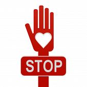 Hand With Stop